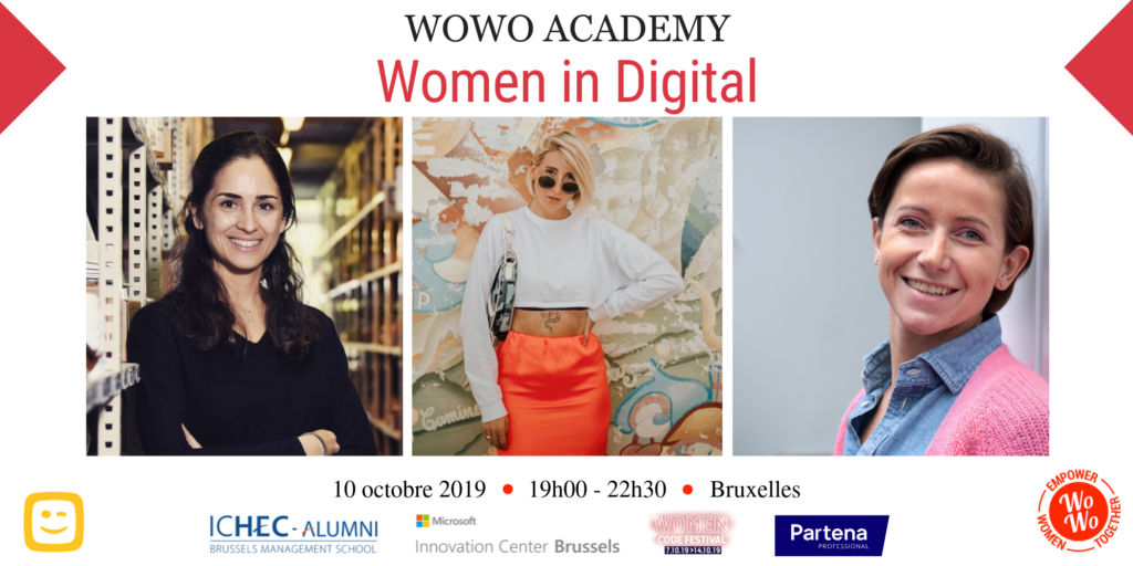 WoWo Academy Women in digital Vanessa Licata instagrammeuse belge